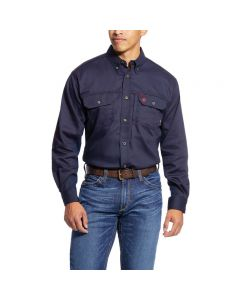 Men's FR Solid Vent Work Shirt by Ariat