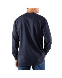 Flame Resistant Carhartt Force Cotton Long Sleeve Henley