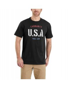 CARHARTT LUBBOCK USA GRAPHIC SHORT-SLEEVE T-SHIRT
