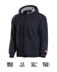 Benchmark Zip Up Flame Resistant Sweatshirt