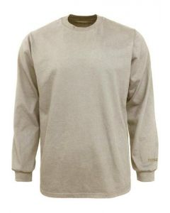 Benchmark Men's FR Plain Long Sleeve T-Shirt