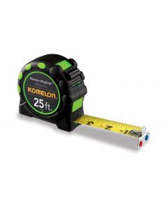 Komelon 25' Monster Maggrip Tape Measure
