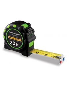 Komelon 30' Monster Maggrip Tape Measure