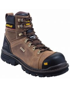 "Caterpillar Men's Hauler 6"" Waterproof Composite Toe Work Boot"