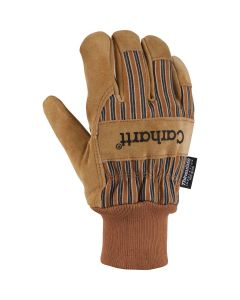 CARHARTT INSULATED SUEDE KNIT CUFF WORK GLOVE