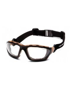 Carhartt Carthage Clear Anti-Fog Lens with Black/Tan Frame