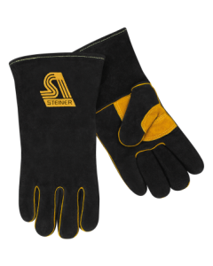 Steiner Premium Side Split Cowhide Stick Welding Gloves - ThermoCore™ Foam Lined