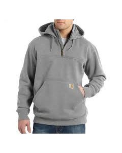 CARHARTT RAIN DEFENDER® PAXTON HEAVYWEIGHT HOODED ZIP MOCK SWEATSHIRT