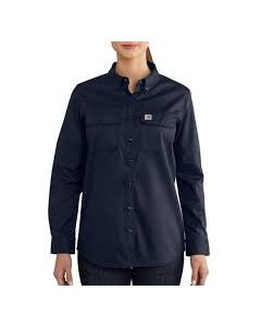 CARHARTT WOMEN'S FR RUGGED FLEX® TWILL SHIRT