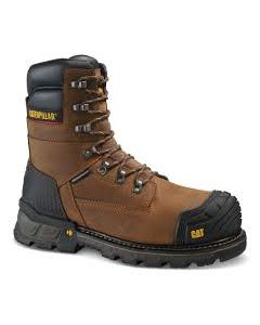 "CAT Men's Excavator XL 8"" Waterproof Thinsulate Composite Toe Work Boot"