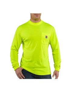 CARHARTT Force Color Enhanced Long-Sleeved T-Shirt
